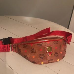 Authentic MCM Limited Edition Belt Bag